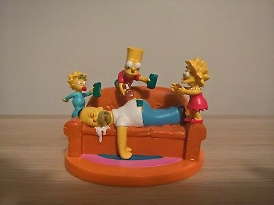 The Simpsons PAY DAY Hamilton Figurine MISADVENTURES OF HOMER Collection Bart