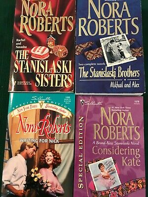 Nora Roberts--The Stanislaski Series
