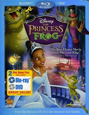 Princess and the Frog [2 Discs] [Blu-ray/DVD] (REGION A Blu-ray New) BLU-RAY/WS