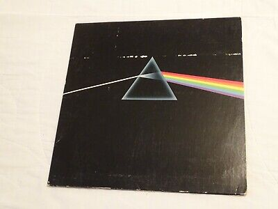 PINK FLOYD Dark Side of the Moon Vinyl LP Gatefold Record Original 1973 Poster