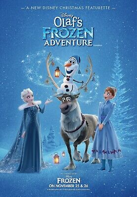 Olaf's Frozen Adventure Movie Poster (2017) - NEW - 11x17 13x19