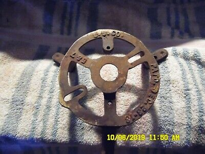 Some Sort Of Antique circa 1913 Metal Part, L. V. or U. Co, PATD. Dec 23, 1913