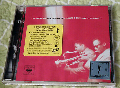 The Best of Miles Davis & John Coltrane: 1955-1961 (CD, 2001, Columbia/Legacy)