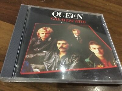 Queen - Greatest Hits - Cd Album - Bohemian Rhapsody / Dont Stop Me Now / Flash