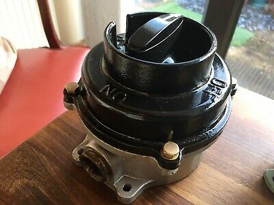 Vintage Industrial Switch SANTON Perfect circa 1960 ideal man cave light switch