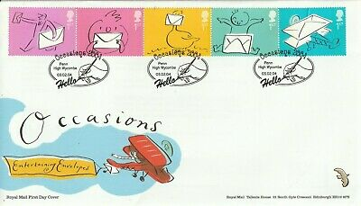 3 February 2004 Occasions Royal Mail Unaddressed First Day Cover Penn Shs