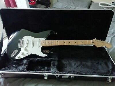 Squier Stratocaster Guitar. Made in Japan.