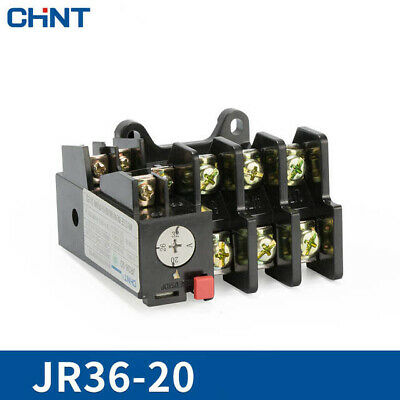 Brand new JR36-63 45Amp 45A Adjustable 3 Pole Thermal Overload Relay 1NO 1NC