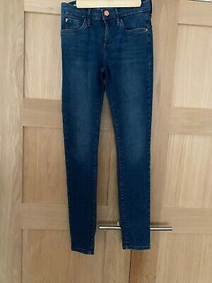 River Island Blue Jeans Skinny 10R  Mid Rise