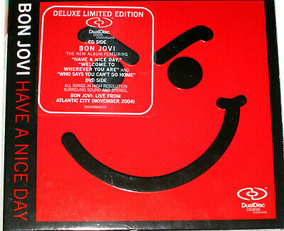 Bon Jovi - Have A Nice Day Dualdisc CD+Audio-DVD 5.1-Sound Multichannel Deluxe