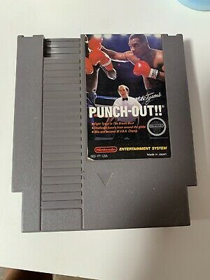 Original Nintendo NES Game Cartridge - Mike Tyson's Punch-Out!!