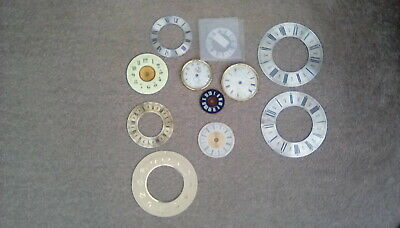 Antique  Mantel Clock Dials