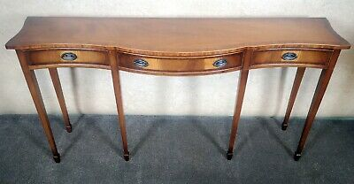 Reprodux Bevan Funnell Serpentine Serving Table / Hall Table