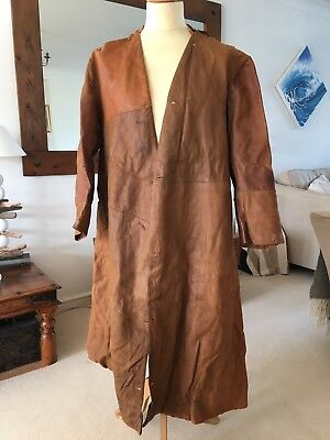 WW1 Royal Flying Corps Naval Air service RNAS RFC Pilots Leather Coat Liner -
