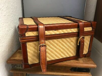 Leather Suitcase 24 Cm. Top Condition