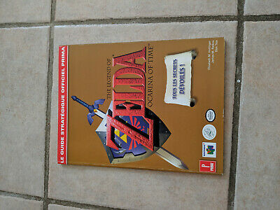 Guide Officiel Stratégique Prima Zelda Ocarina Of Time Nintendo 64