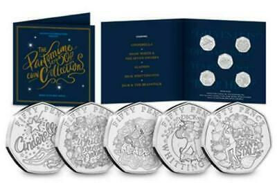 2019 Christmas Panto Pantomime 50p Coin Set - Brand New Sealed Presentation Set