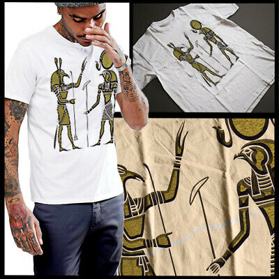 Egyptian T-Shirt Kemet Ancient Egypt Land Of The Gods Size Small To 3XL Cotton
