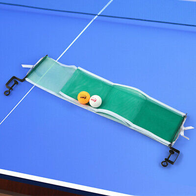Table Tennis Set Table Tennis Net with 2 Ping Pong Balls and Posts C9E9