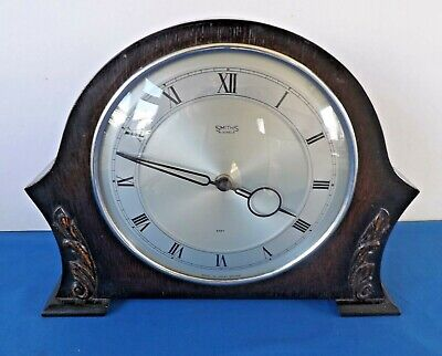 "VINTAGE RARELY SEEN SMITHS ""MANGROVE"" TIME PIECE ONLY MANTEL CLOCK  Wkg. 1952-54"