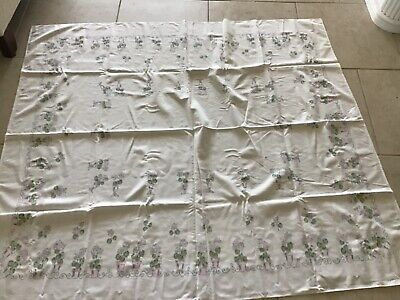 Lot Of Two Vintage  Tablecloths As Is