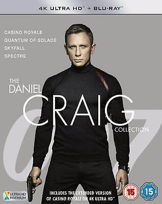 James Bond - The Daniel Craig Collection - 4K Ultra HD (Includes Blu-ray)