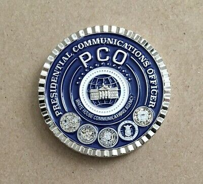 CHALLENGE COIN 2018 Presidential Communications Officer WHITE HOUSE Donald Trump