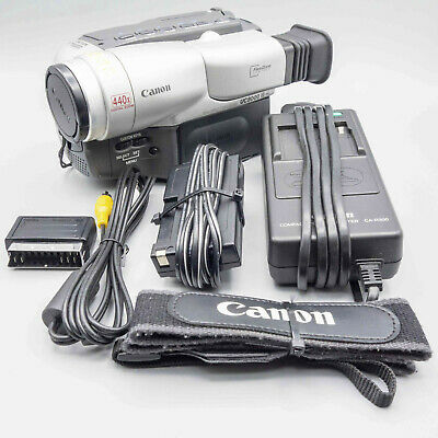 Canon UC8000E Video8 Camcorder - Fully Tested - 100% Operational - Excellent