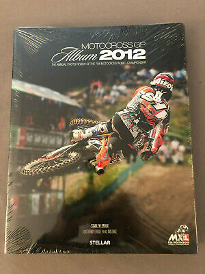 NEUF, RARE : MOTOCROSS GP ALBUM 2012 - FR/UK - LEROUX STANLEY - 244 pages