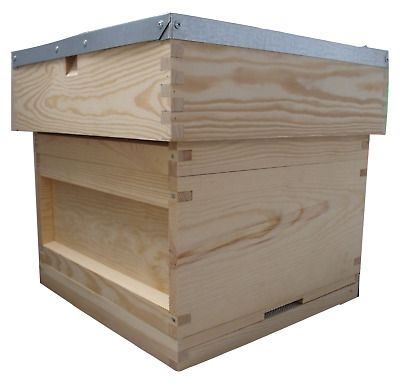 National Beehive Pine ** With Free Queen Excluder and Hive Strap**