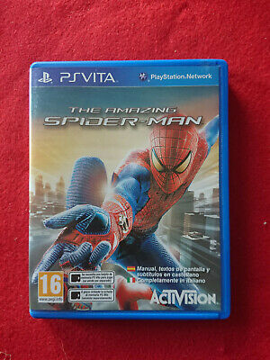 Psvita Playstation Vita Ps Vita The Amazing Spiderman L'uomo Ragno Ita Italiano