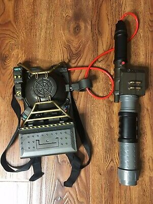 Ghostbusters Proton Pack Projector Backpack Blaster Mattel With Slimer