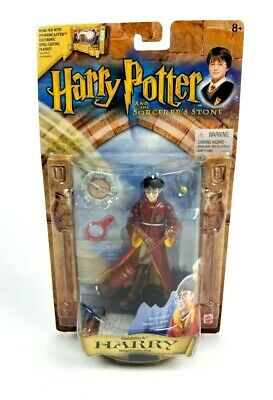 Harry Potter & The Sorcerers Stone Quidditch Wizards Collection Figure Toy 2001