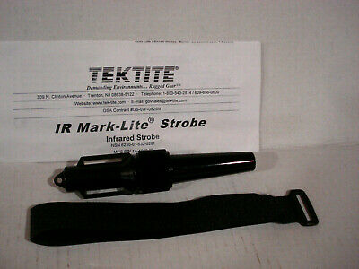 NEW Mark-Lite IR Infrared Strobe Tactical Military ID Marker. TEKTITE INDUSTRIES