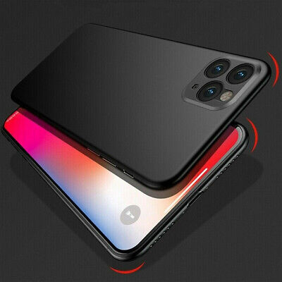 For iPhone 11 Pro Max XS XR Ultra Slim Shockproof Hard Matte Back Cover Case