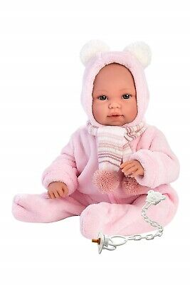 Llorens Doll Grace Soft Body Crying Baby Girl 36cm New 63634