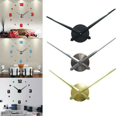 DIY Large Silent Quartz Wall Clock Movement Hands Mechanism Repair Tool GP3