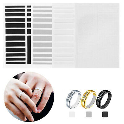 19 Pcs Invisible Ring Size Adjuster Set Ring Inner Ring Sticker Resizing Tools