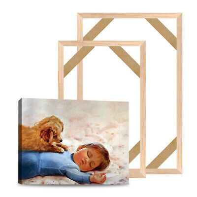 Canvas Painting Wood Stretcher Bar Frame Gallery Wrap Sturdy Strips Wall Art 28