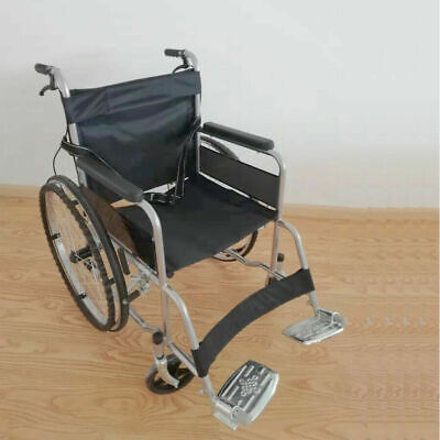 "24""Ordinary Foldable Wheelchair Elderly Portable Disabled Lightweight  HEW030805"