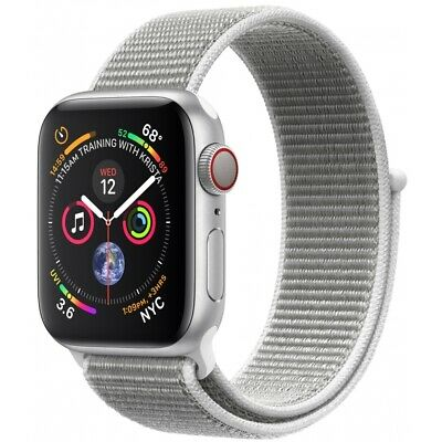 Apple Watch Series 4 GPS+Cellular 40mm Silber Aluminium Bluetooth Smartwatch