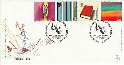 7 December 1999 Artists Tale Royal Mail First Day Cover Leicester Square Shs