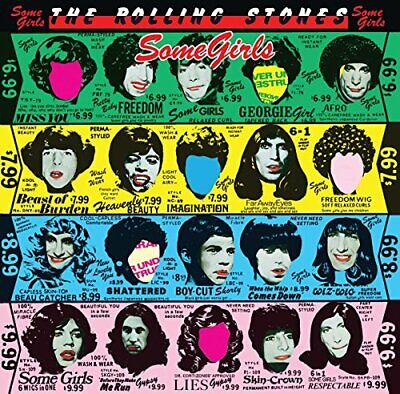 Used CD the rolling stones SOME GIRLS