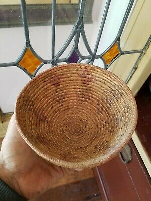 Southern California Native American Indian Antique Basket