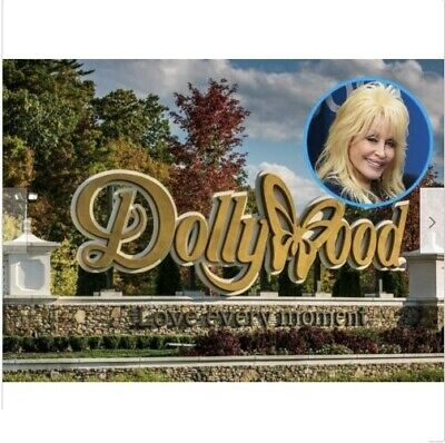 3 TICKETS DOLLYWOOD - Summer 2020 ONLY June 14 - July 3  Bring a friend passes
