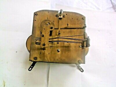 5 HAMMER 4X4 MECHANISM  FROM AN OLD  MANTLE CLOCK SPARES/REPAIR REF st 1