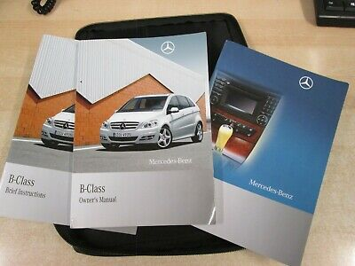MERCEDES B-CLASS OWNERS MANUAL HANDBOOK 2006-2011 wallet OUR REFW157