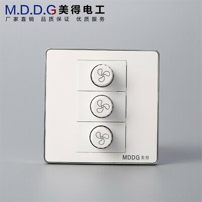 Three-position Governor Fan Stepless Switch Fan Motor Universal Switch