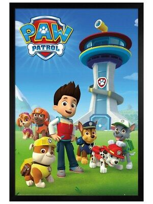 Paw Patrol Vehicles Kids Cartoons Maxi Poster Print 61x91.5cm24x36 inches