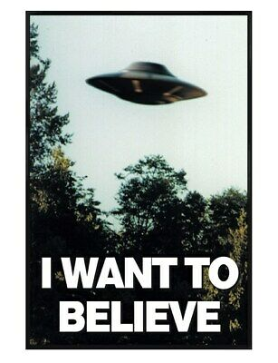 28cm x43cm I Want To Believe X Files 11x17 Mini Poster
